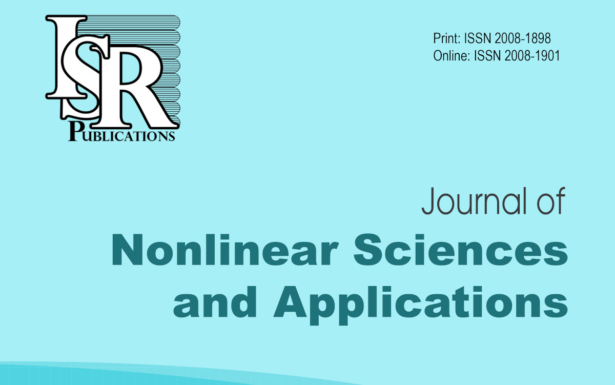 Journal of Nonlinear Sciences and Applications-